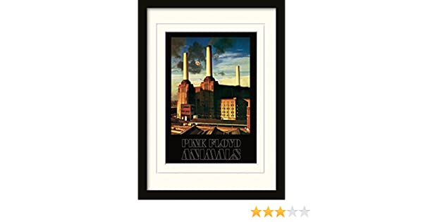 Amazon.com: Pink Floyd Framed Collector Poster - Animals (16 x 12 ...