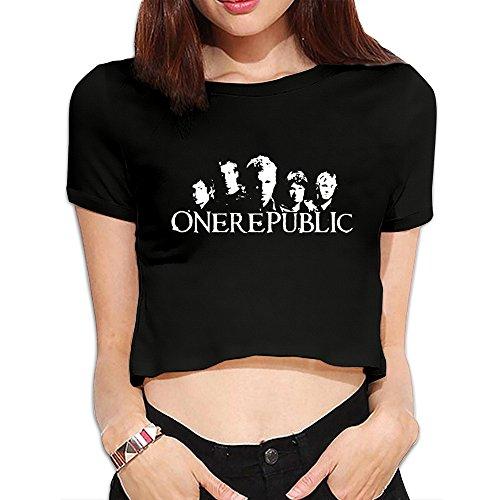 Onerepublic Counting Stars Short Sleeve Women's Tshirts Leisure