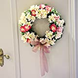 Creative Christmas wreath hotel shopping mall Christmas ornaments ( Size : 30cm )