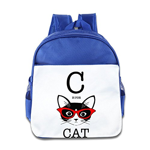 FOODE C Is For Cat Backpack / Kids' School (Hello Kitty Custome)