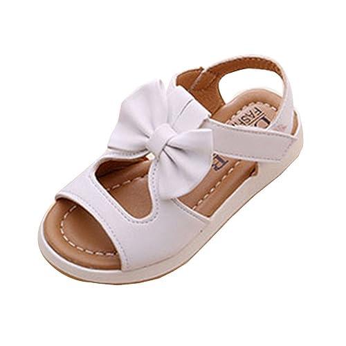 muy baratas precio de calle ahorros fantásticos Sandalias Niña Verano Plano Calzado Zapatos Princesa ...