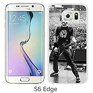 Unique And Lovely Designed Case For Samsung Galaxy S6 Edge With foo fighters dace grohl White Phone Case