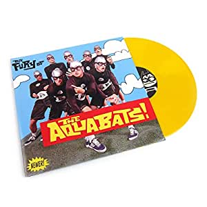 The Aquabats!: The Fury Of The Aquabats! (Yellow Colored Vinyl) Vinyl 2LP