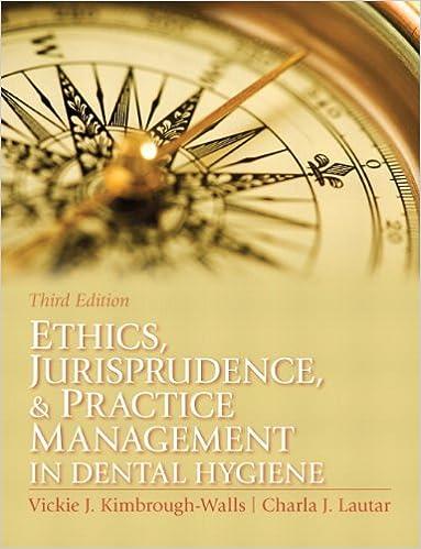 Ethics, Jurisprudence and Practice Management in Dental