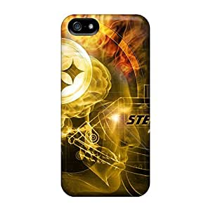 Fashion Cases For Iphone 5/5s- Pittsburgh Steelers Defender Cases Covers