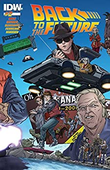 Back to the Future #2 by [Gale, Bob, Barber, John, Burnham, Erik]