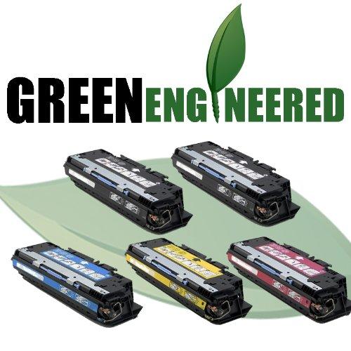 Remanufactured HP 311A Toner Cartridges - Q2681A, Q2682A, Q2683A, Q2670A Set of 5 - For HP Color LaserJet 3700, 3700DTN, 3700DN, 3700N - 2 Black, 1 Cyan, 1 Magenta, 1 Yellow Toner Cartridges