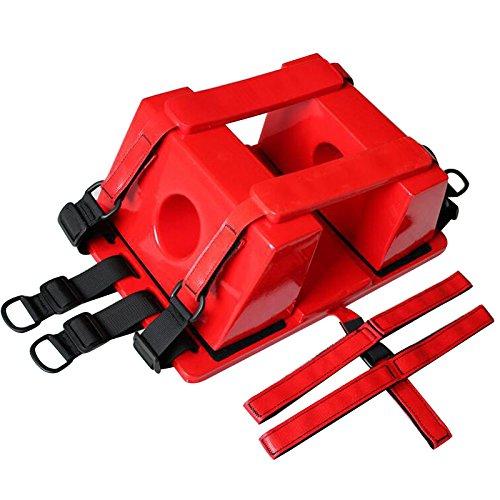 Head Immobilizer for Backboard vinmax Reusable Spine Board Head Immobilizer CID Ambulance EMT Red New
