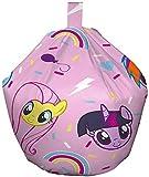 My Little Pony Bean Bag – Children's Pretty Full Design - Officially Licensed, Fabric, Pink, 52 x 38 x 52 cm