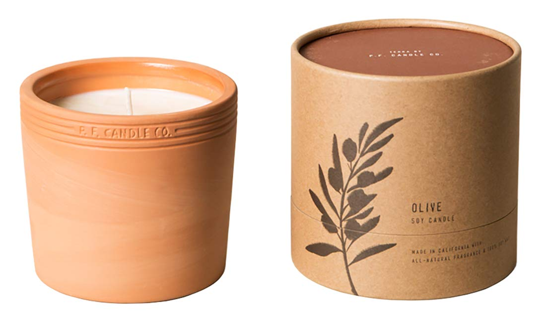 Terra by P.F. Candle Co. (Olive 17.5 oz) by P.F. Candle Co.