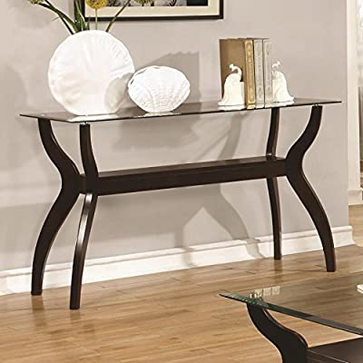 Coaster Home Furnishings 704629 Sofa Table, Cappuccino