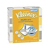 Kleenex Multicare Facial Tissues, 80 Tissues per Box, 6 Packs
