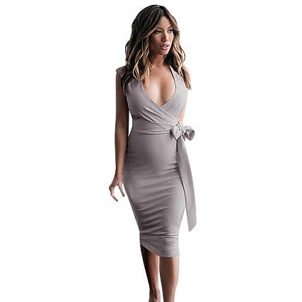 Amazon.com  Women Dress Sexy Retro Half Sleeve Bodycon Formal Office Sheath  Pencil Mini Dress Club Party Turn-Down Collar Slim Skirt  Toys   Games e4deb4276