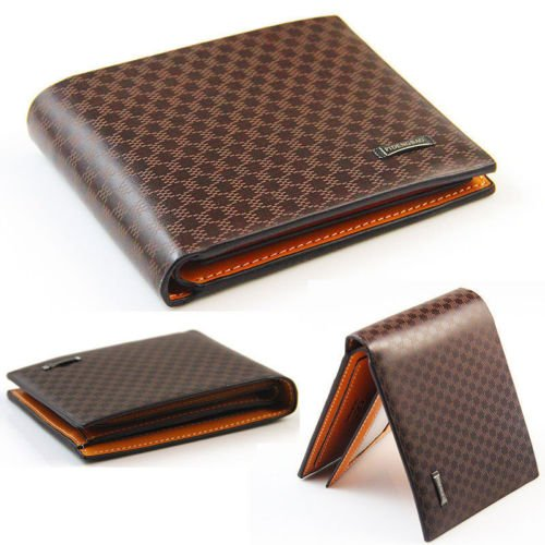 PU Leather Card Holder Wallet Pocket Card Clutch ID Credit Bifold Purse ,Very Fashion and Good quality ,HB - Miu Outlet Miu