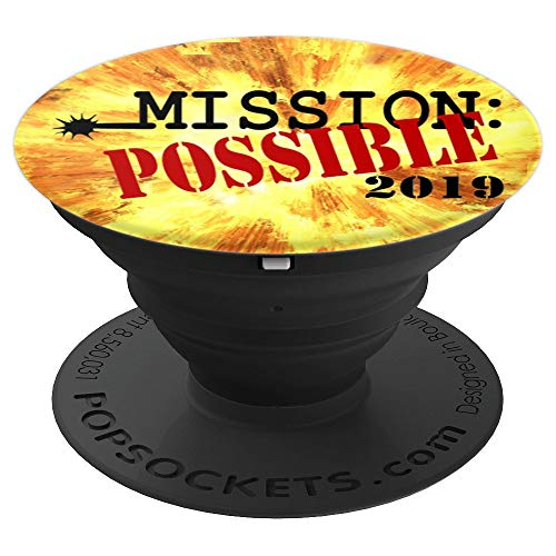 - Mission Possible - PopSockets Grip and Stand for Phones and Tablets