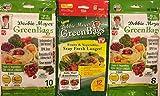 Debbie Meyer GreenBags - 42 Bags Combo (12x2 Medium +10 Large +8 XL) - 4 Sets of Freshness-Preserving Food/Flower Storage Bags