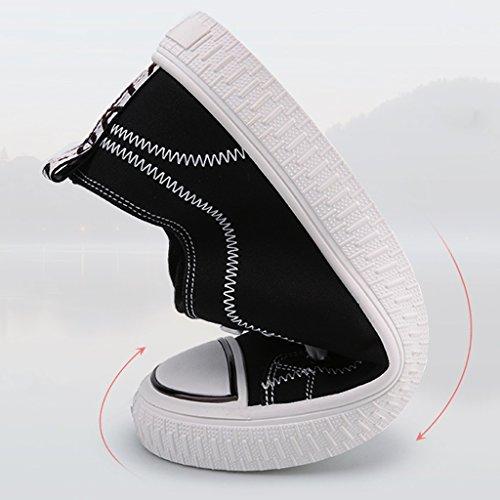 Scarpe da Size 44 ginnastica di Scarpe Espadrillas YaNanHome da da stile tela Color uomo scarpe di basse ginnastica casual Yellow Scarpe Bianca Scarpe tendenza coreano BXqg6