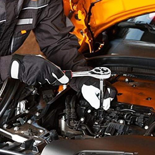 ソケットレンチセット、 メカニックツールセット 124枚 合金鋼 プロフェッショナルスリーブツールセット 引き出しタイプのツールボックス設計と大容量設計