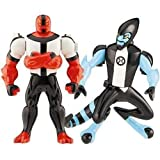 Ben 10 (Ten) Alien Creation Chamber Mini Figure 2-Pack Four Arms and XLR8