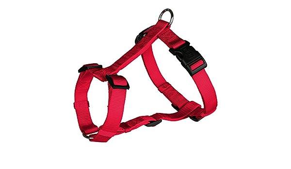 Trixie - Arnés clásico en forma de H para perro (L-XL) (Rojo ...