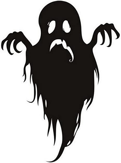 Wintefei Fashion Desenho Animado Fantasma Parede Adesivo Halloween