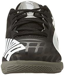 PUMA Evospeed Star IV JR Sneaker (Little Kid/Big Kid) , Black/White/Dark Gray, 11 M US Little Kid