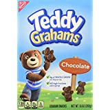 Teddy Graham Crackers, Chocolate, 10oz Boxes (Pack of 6)
