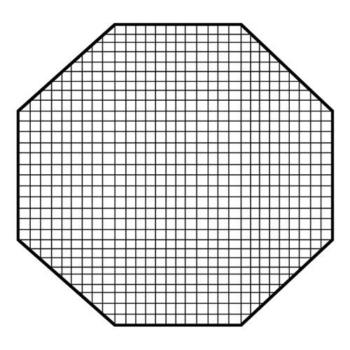 Fotodiox Pro Octagon Eggcrate Grid for 60