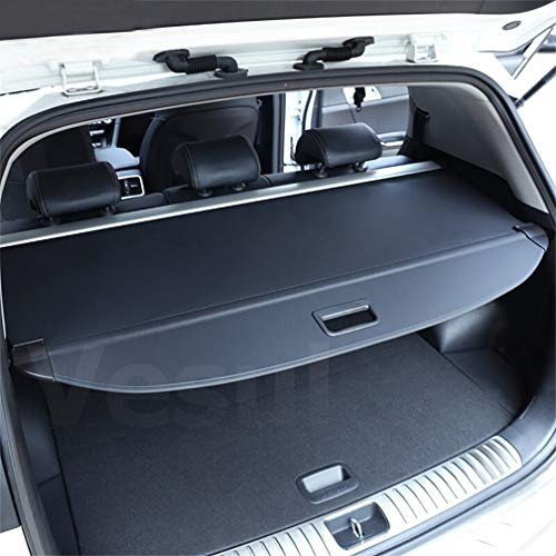 - Vesul Black Retractable Rear Trunk Cargo Luggage Security Shade Cover Shield for Kia Sportage 2017 2018 2019