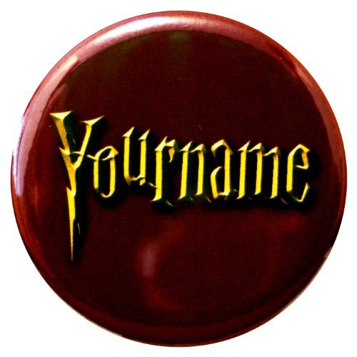 Buttonsmith Custom Personalized Wizard Name Tag -