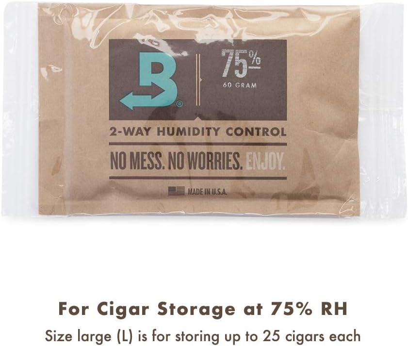 Wood Holder in cedro per 4 Boveda da 60 grammi BOVEDA Originale con calamita