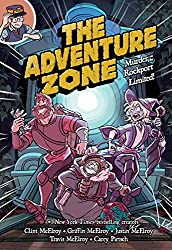 In the second Adventure Zone graphic novel (adapted from the McElroy family's wildly popular D&D podcast), we rejoin hero-adjacent sort-of-comrades-in-arms Taako, Magnus, and Merle on a wild careen through a D&D railroad murder mystery. Th...