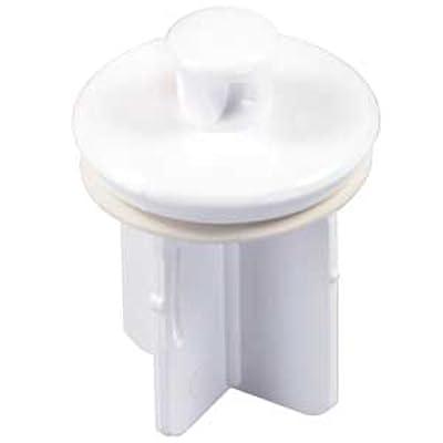 JR Products 95205 Four-Stem Pop-Up Stopper - White: Automotive