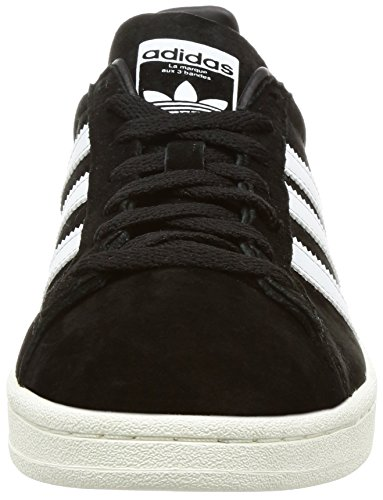 adidas Campus Sneakers Lacci scamosciate Pelle Black Nero BZ0084 Inverno 2018 Core Black Footwear White factory outlet cheap price 100% guaranteed sale online TuakKq