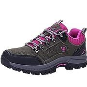CAMEL CROWN Women's Waterproof Hiking Shoes Low Cut Outdoor Summer Hiking Walking Sneakers for Climbing Travel Daily…
