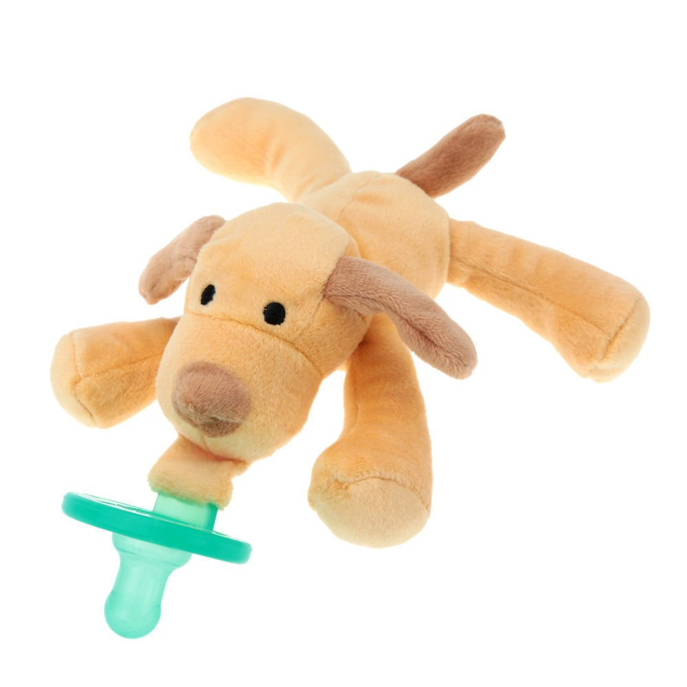 Amazon.com : New Carton Infant Baby Silicone Pacifiers With Plush ...