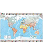 Michelin the World Map (Paper, Rolled)