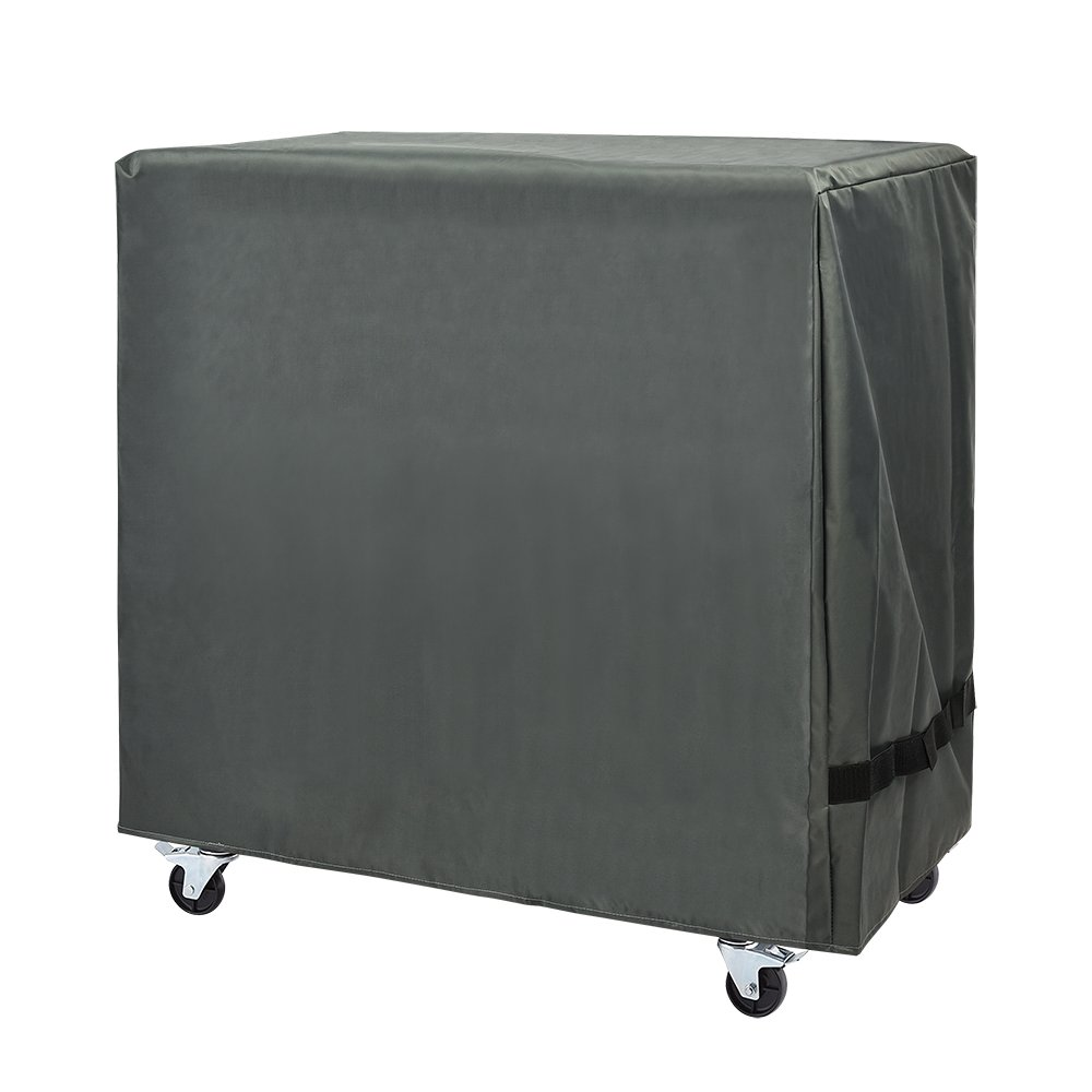 Cooler Cart Cover Waterproof Fit for 80 QT Rolling Cooler, Kitchen Cooling Bins, Beverage Cart, Rolling Ice Chest, Heavy Duty with Ice Scoop by CK Club