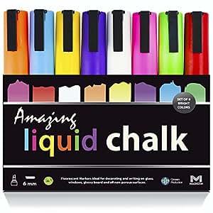 Amazon.com : AMAZING LIQUID CHALK Markers - 8 Pack NEON