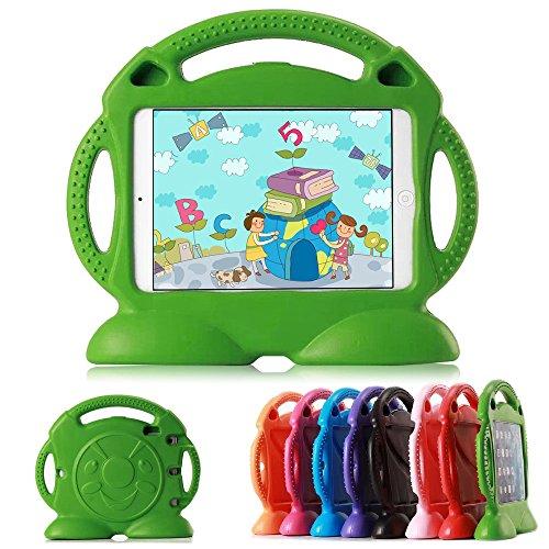 Lioeo iPad 2 Case Kids iPad 3 Case iPad 4 Kid Proof case Full Protective Eva Foam Case for Apple iPad 2/3 / 4 9.7 Inch Screen - Not for ipad Air or ipad Mini (Green) (Cases Up Stand 2 Ipad That)
