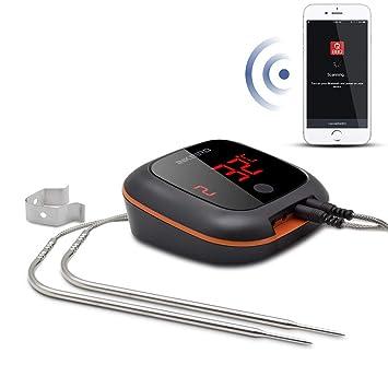 Inkbird IBT 4XS Bluetooth Barbecue Grillthermometer Mit Das In 1000mAh  Li Batterie, Magnet