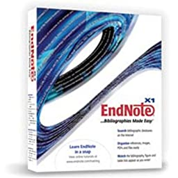 Endnote X1 Upgrade Windows