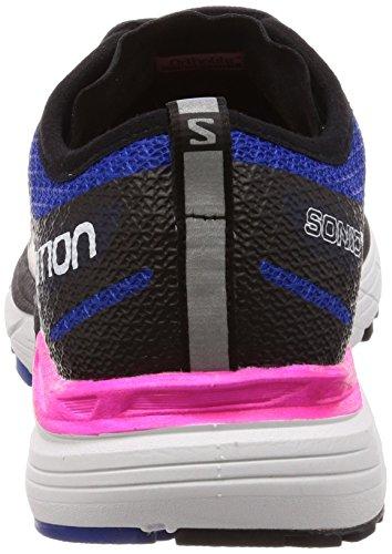 Salomon Women's Sonic Ra Max W Road Running Shoes Black (Black/Surf the Web/Pink Glo 000) KfhFpag2