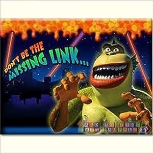 Amazon.com: Monsters vs. Aliens Invitations w/ Envelopes ...
