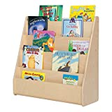 Sprogs SPG-355F Single-Sided Wooden Book Display , 29'' Height, 10 1/2'''' Wide, 30'' Length, Natural