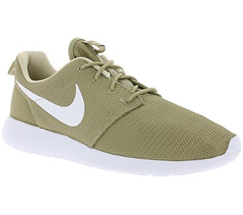 Nike Roshe One, Zapatillas de Running para Hombre Verde (Khaki/white/oatmeal/white)
