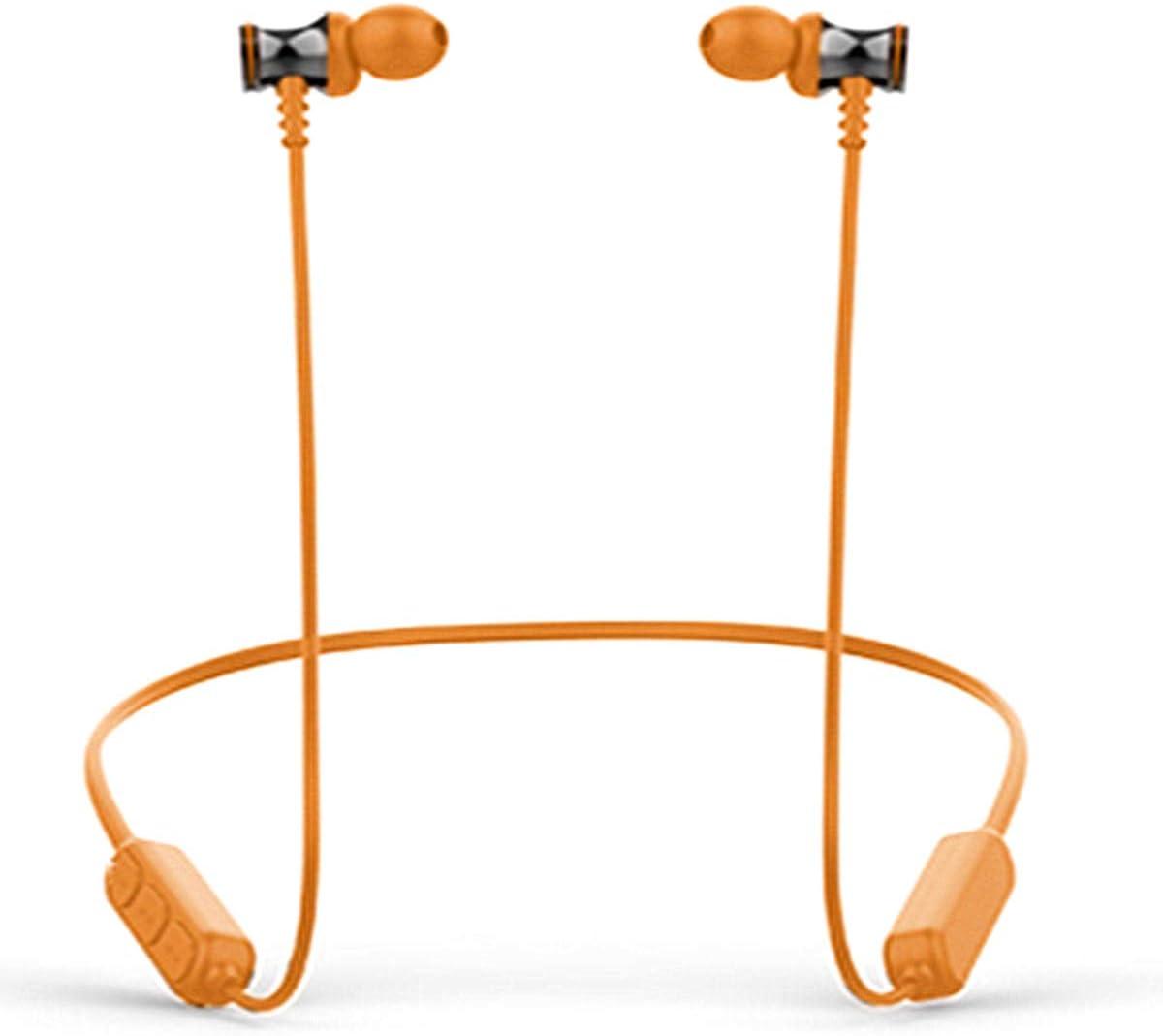 Wireless Bluetooth 5.0 Sports Sweatproof Headphones Orange