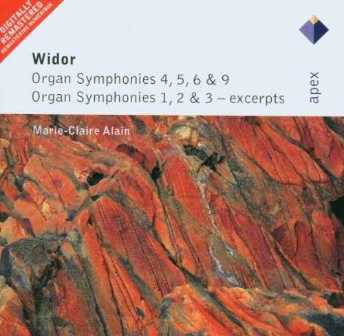 Widor: Organ Symphonies 4, 5, 6 & 9, Etc. (Widor Organ)