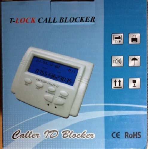 Incoming Call Block - Bundle Pack - 2 Items: Call Blocker/Caller Block Unit & Telephone Splitter