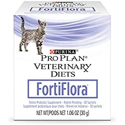 Purina Pro Plan Veterinary Diets Fortiflora Feline Nutritional Cat Supplement - 30 ct. Box